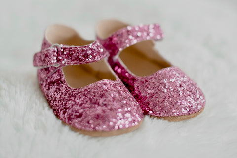 Icy Pink Merry and Bright Flats