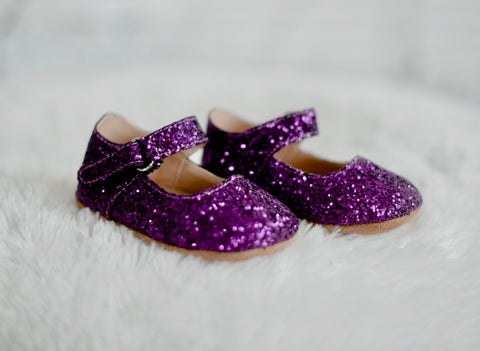 Sugarplum Purple Merry and Bright Flats
