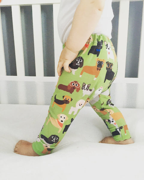Love Puppies Print Leggings