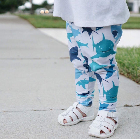 Shark Print Leggings
