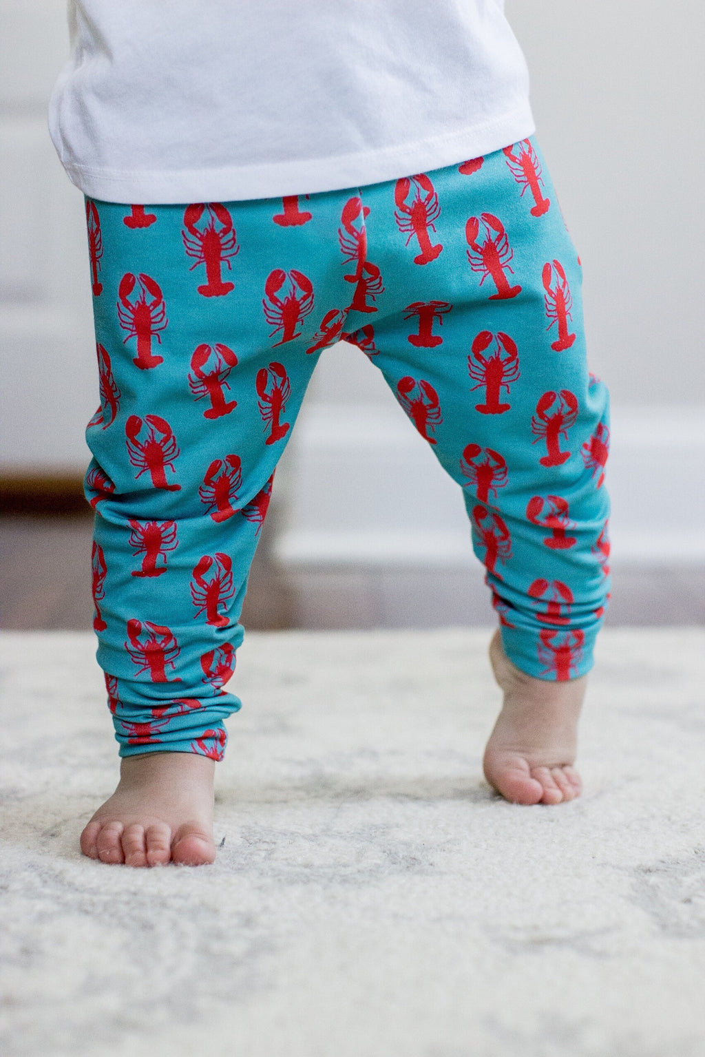 Lobster Print Leggings