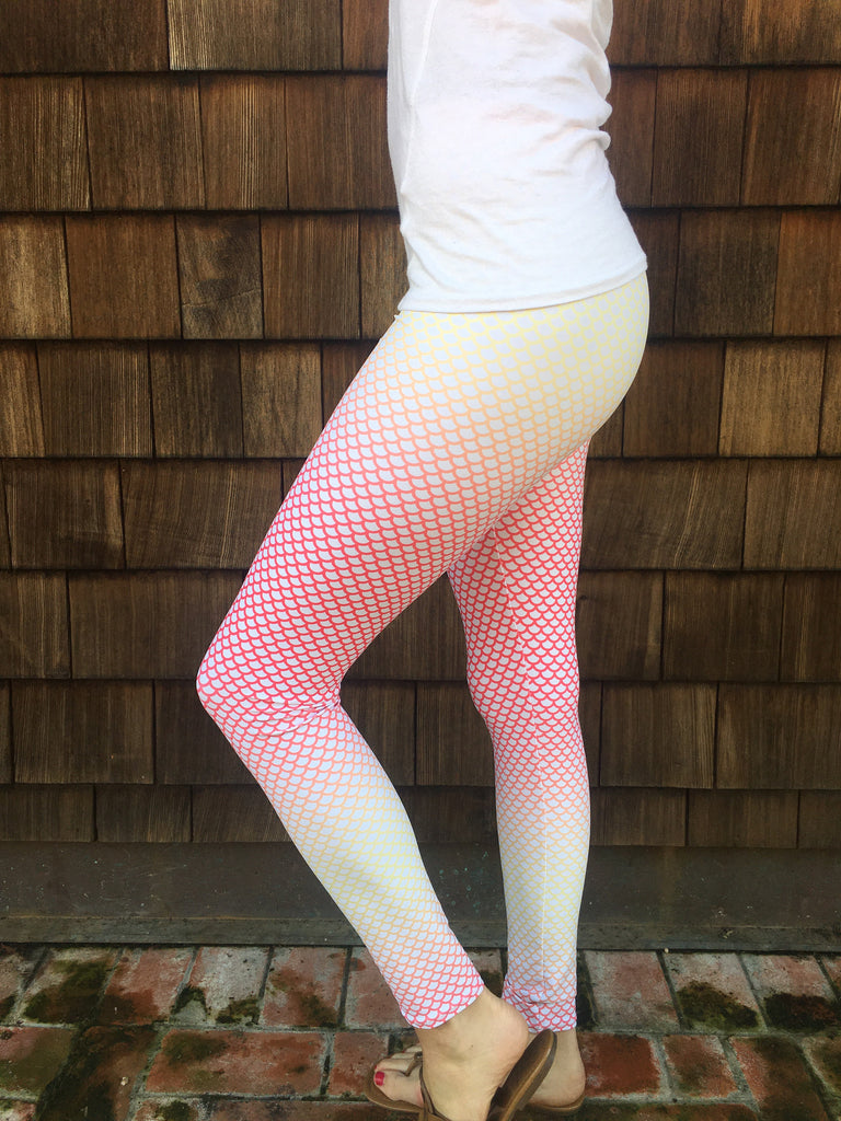 Mermaid Women's Leggings Sunrise