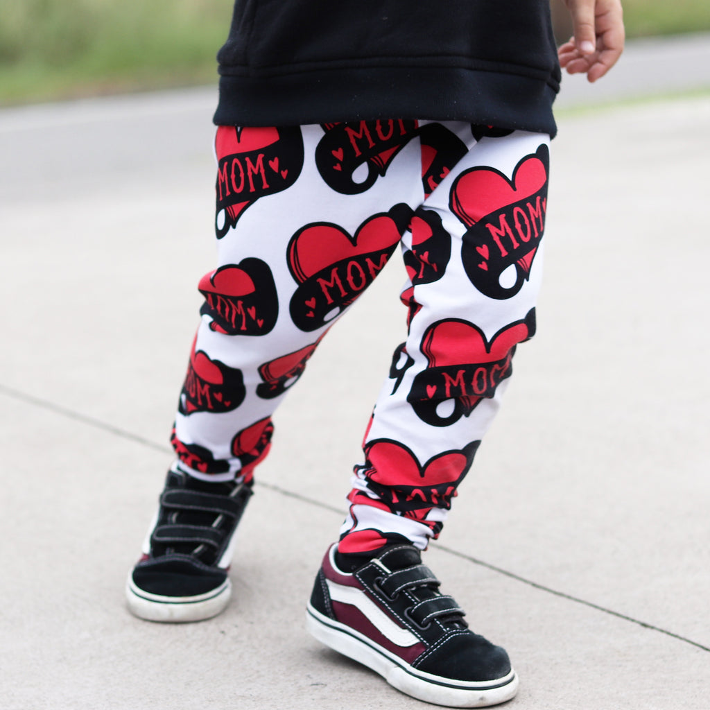 Mom Heart Leggings