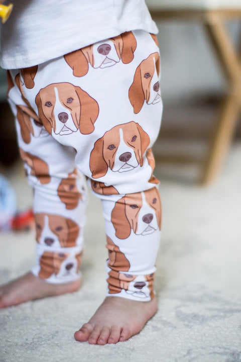 Beagle Face Leggings