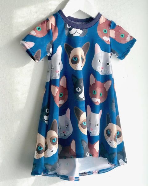 Kitty Cat Shirt Dress