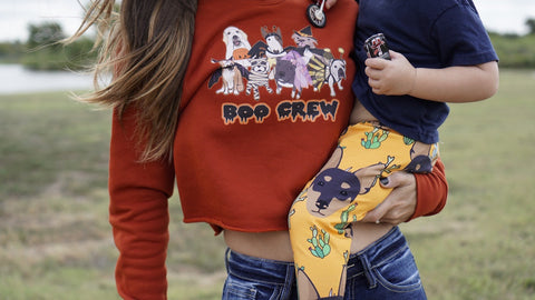 Boo Crew Women's Crop Sweatshirt