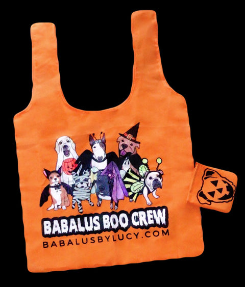 Halloween Boo Crew Trick or Treat Bag