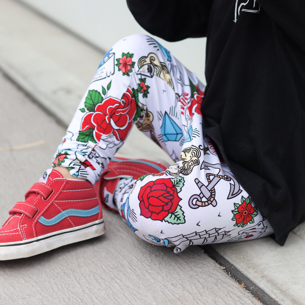 Sailor Tattoo Leggings