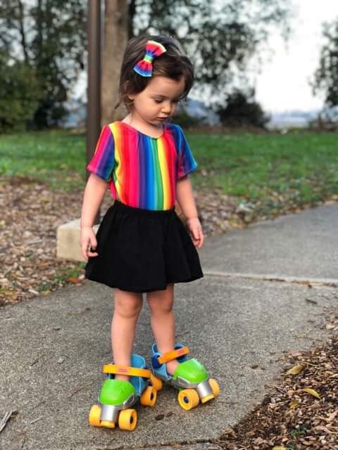 Rainbow Leotard