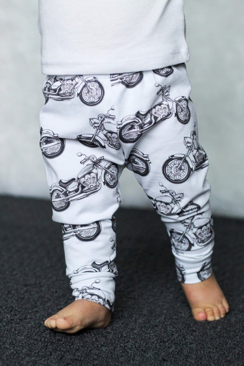 Motorcycle Leggings Cafe Racer