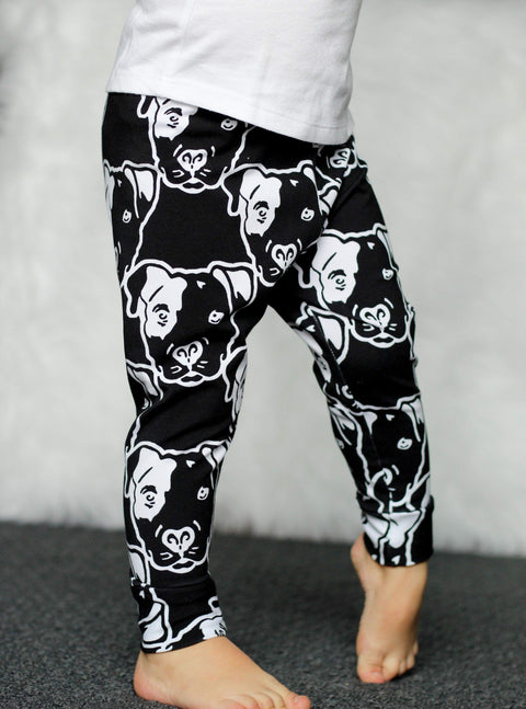 Reverse Pitbull Face Leggings