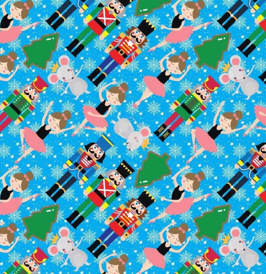 Nutcracker Print Christmas Leggings