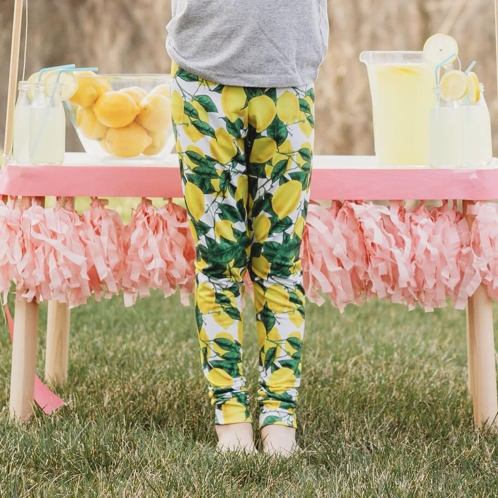Lemon Leggings