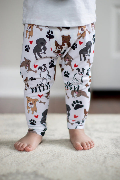 So Pitty ™ Pitbull Print Leggings