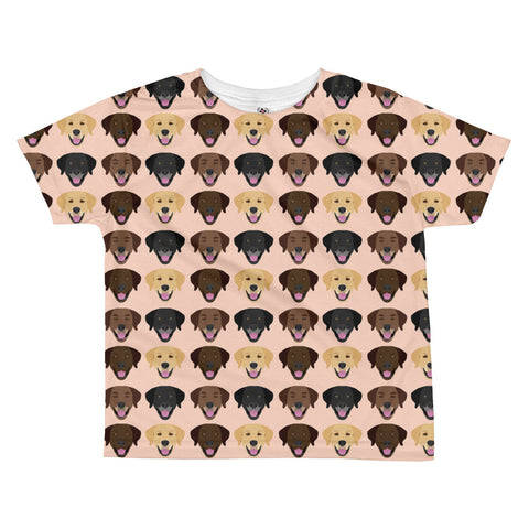 Labrador Retriever All-over kids sublimation T-shirt
