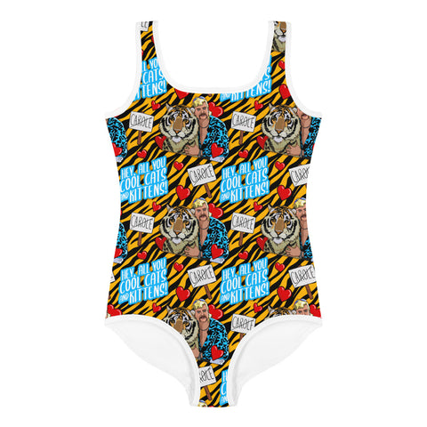 Tiger King All-Over Print Kids Swimsuit