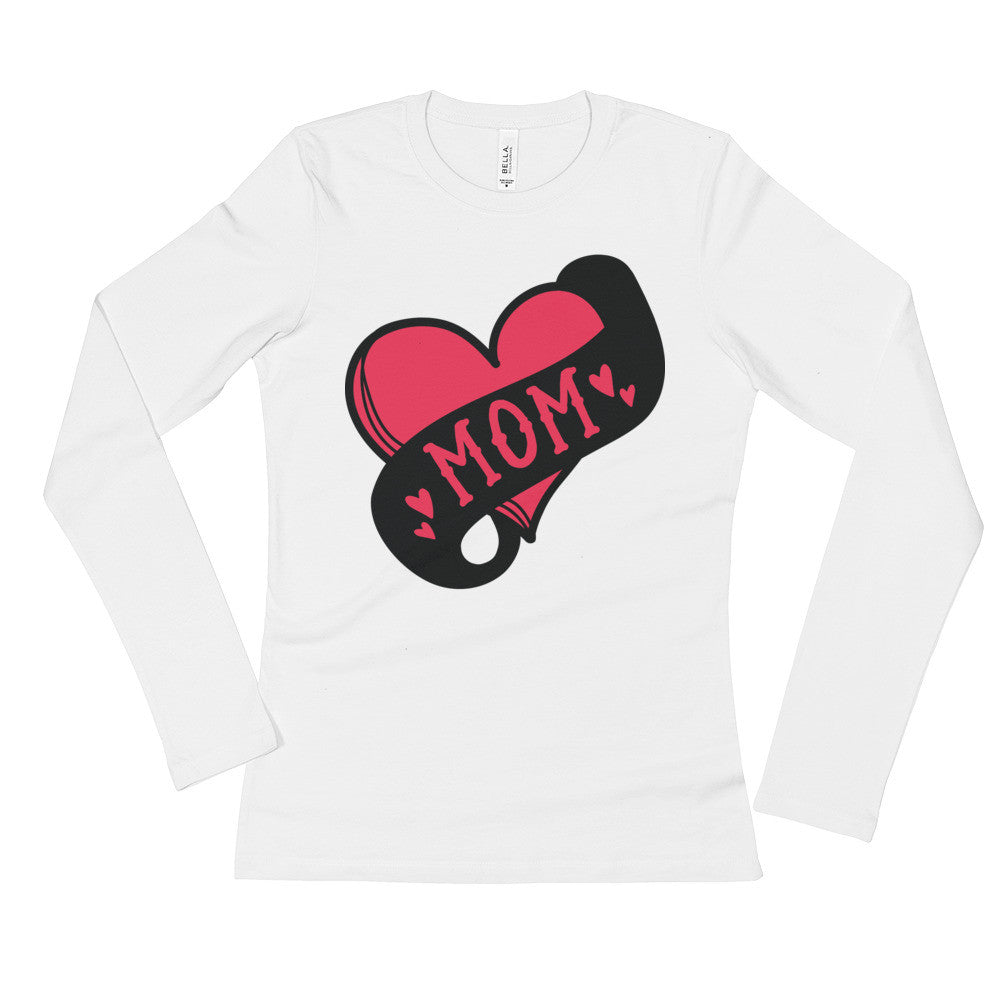 Mom Tattoo Ladies' Long Sleeve T-Shirt