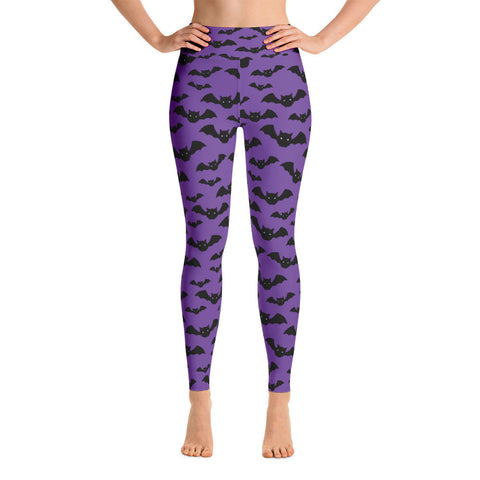 Halloween Bat Yoga Leggings