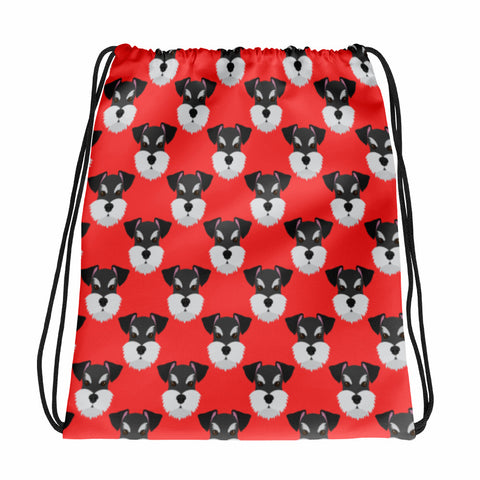 Miniature Schnauzer Drawstring bag