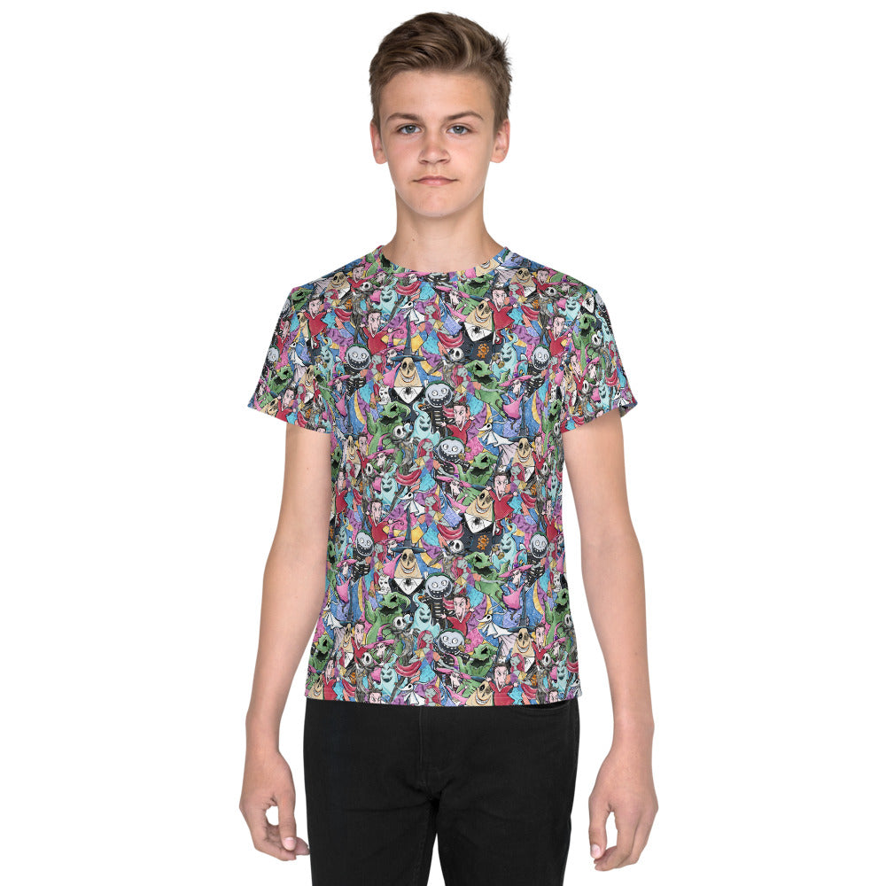 NBC Stacked Youth T-Shirt
