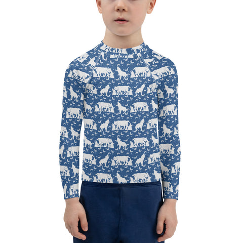 Wolf Kids Rash Guard