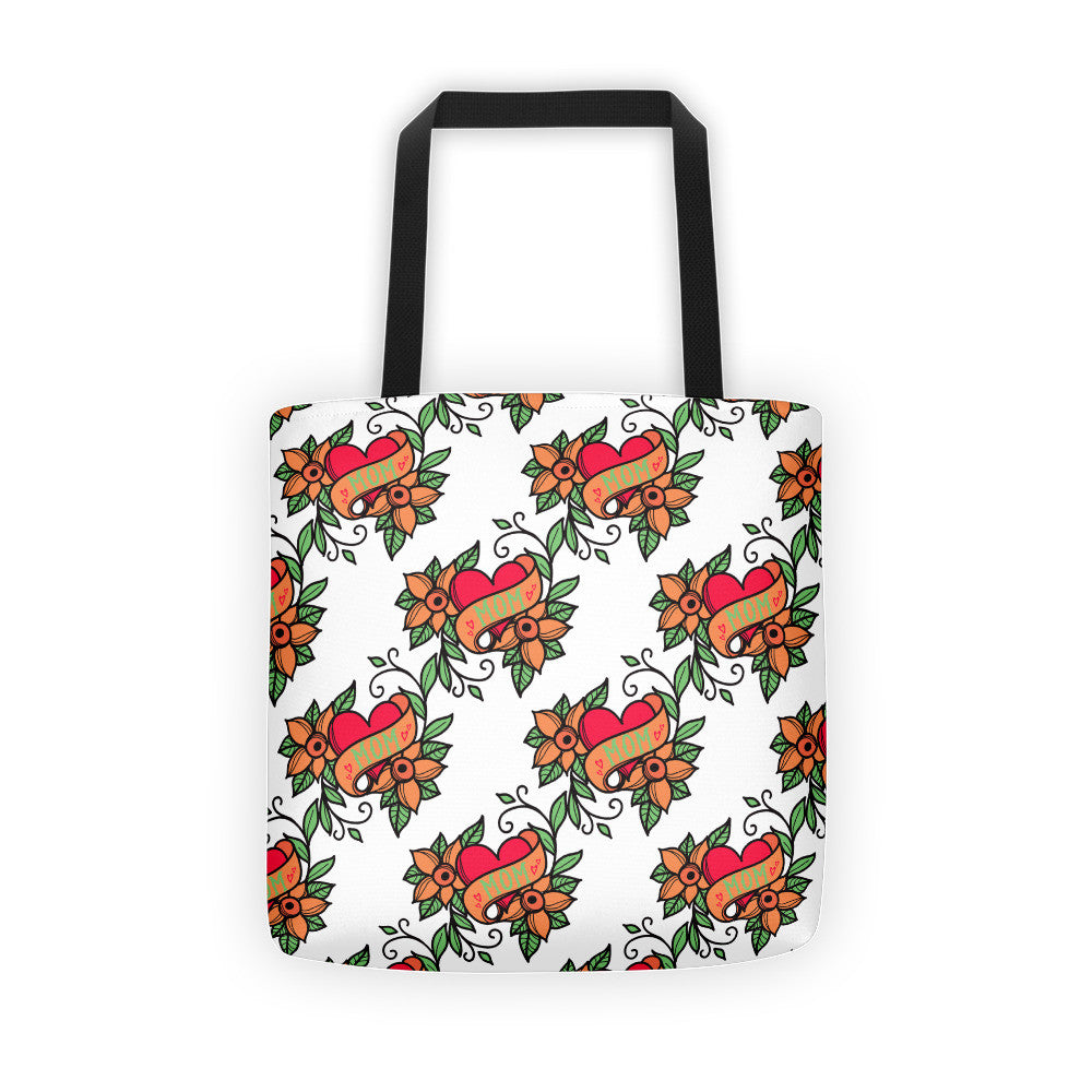 Mom Tattoo Tote bag