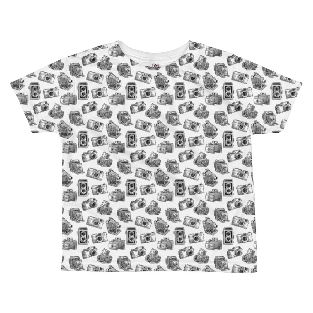 Camera Print All-over kids sublimation T-shirt