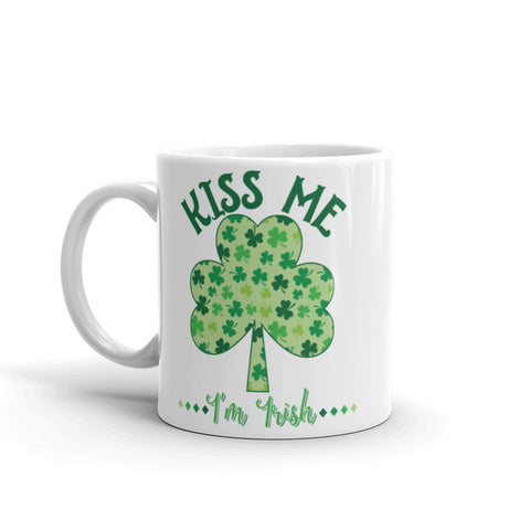 Kiss Me St Patricks Day Mug