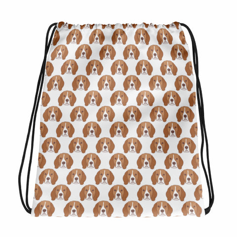 Beagle Drawstring bag
