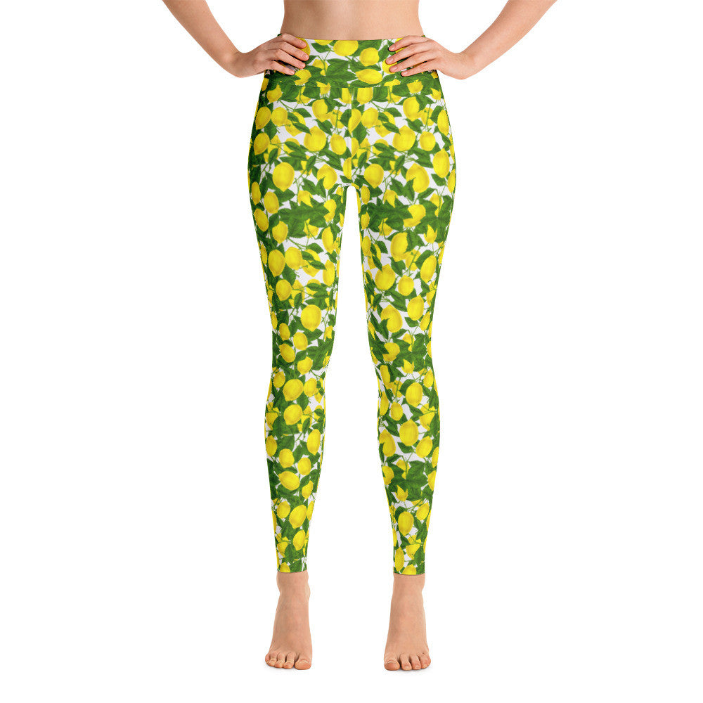 Lemon Yoga Leggings