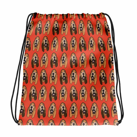 Bloodhound Drawstring bag