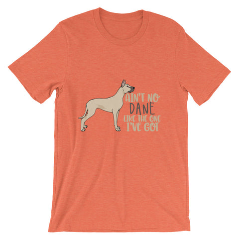 Great Dane Short-Sleeve Unisex T-Shirt