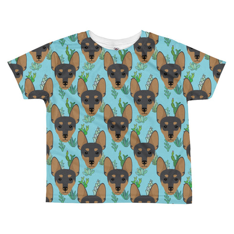 Miniature Pinscher All-over kids sublimation T-shirt