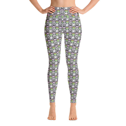 Halloween Monster Yoga Leggings