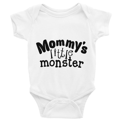 Mommy's Little Monster Infant Bodysuit