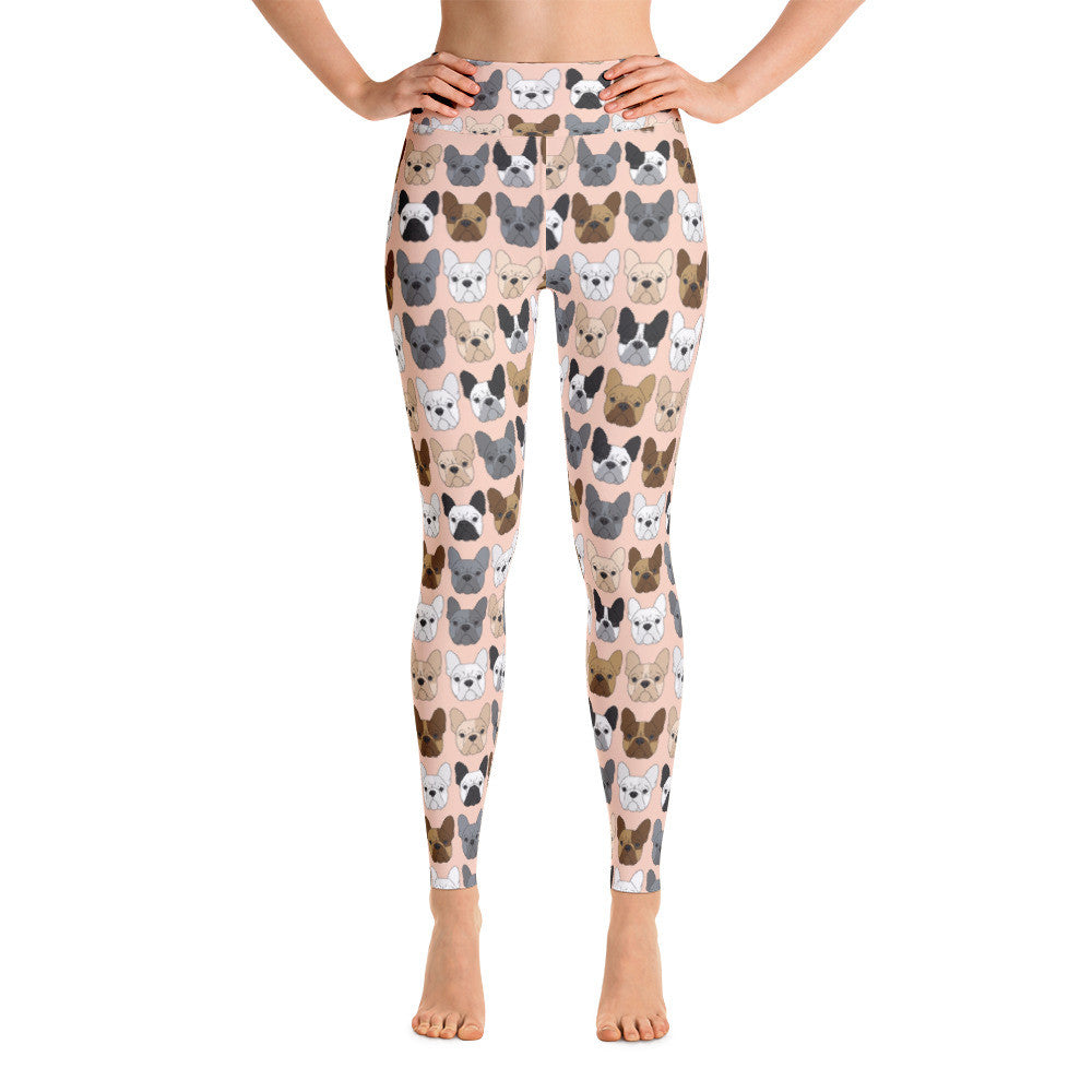 French Bulldog Yoga Leggings