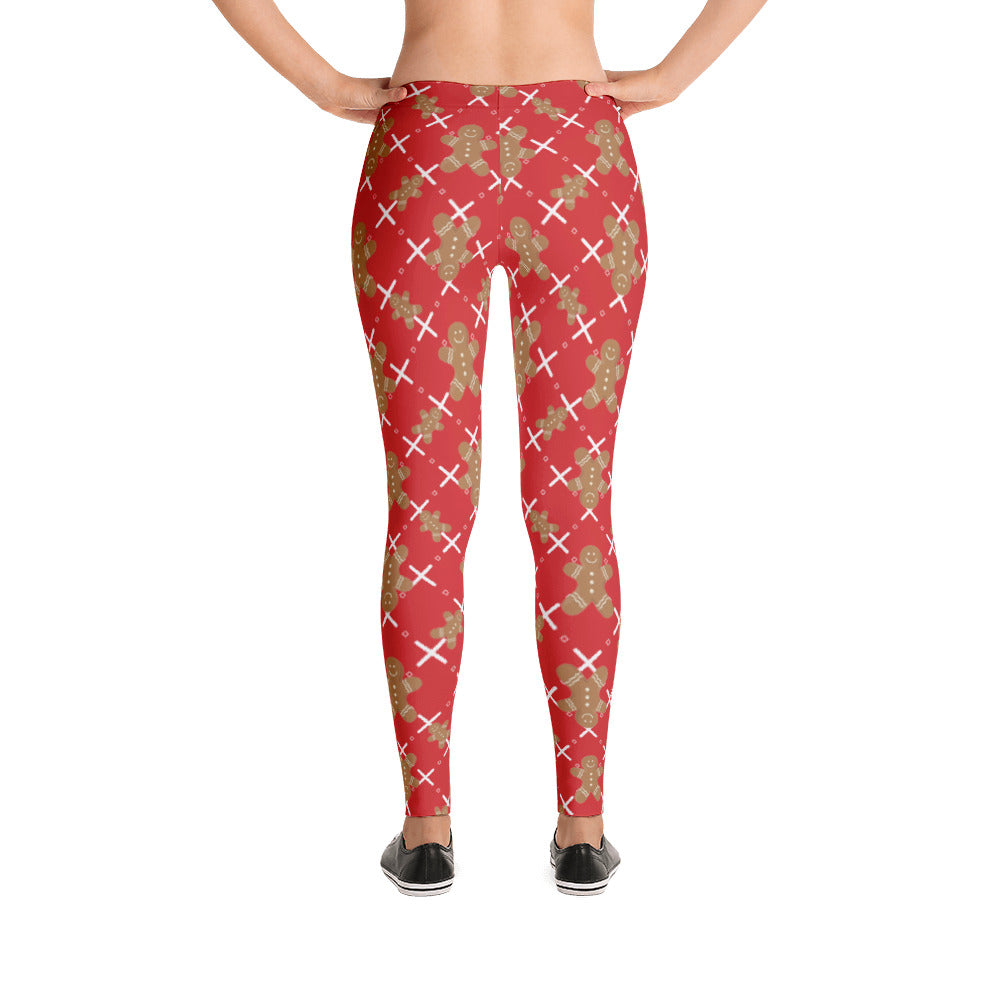 Christmas Gingerbread Man Women's Leggings