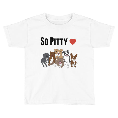 SO PITTY Pitbull Kids Short Sleeve T-Shirt