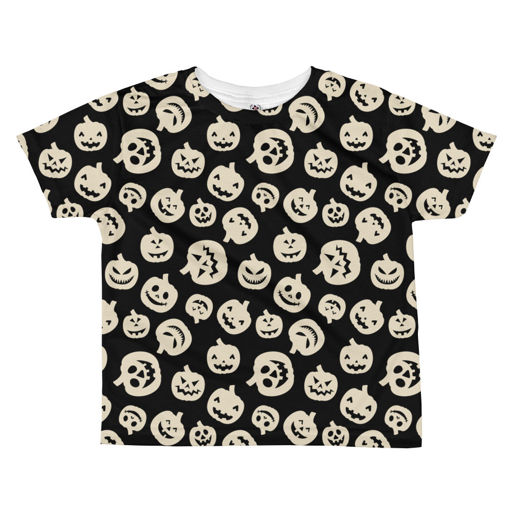 7d7eb23d Halloween Pumpkin All-over kids sublimation T-shirt – Babalus By Lucy