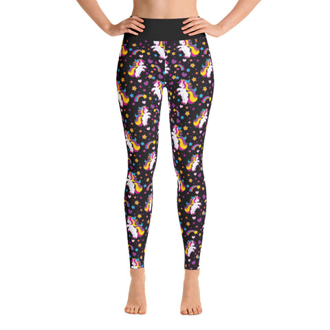 Unicorn Yoga Leggings