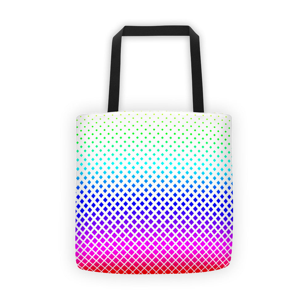 Rainbow Diamond Tote bag