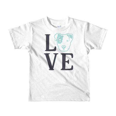 Pitbull Love Short sleeve kids t-shirt