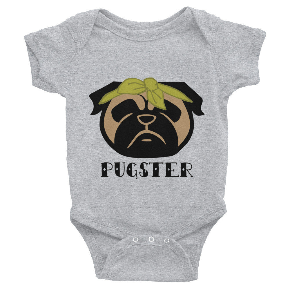 Pugster Pug Infant Bodysuit