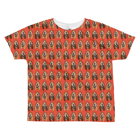Bloodhound All-over kids sublimation T-shirt