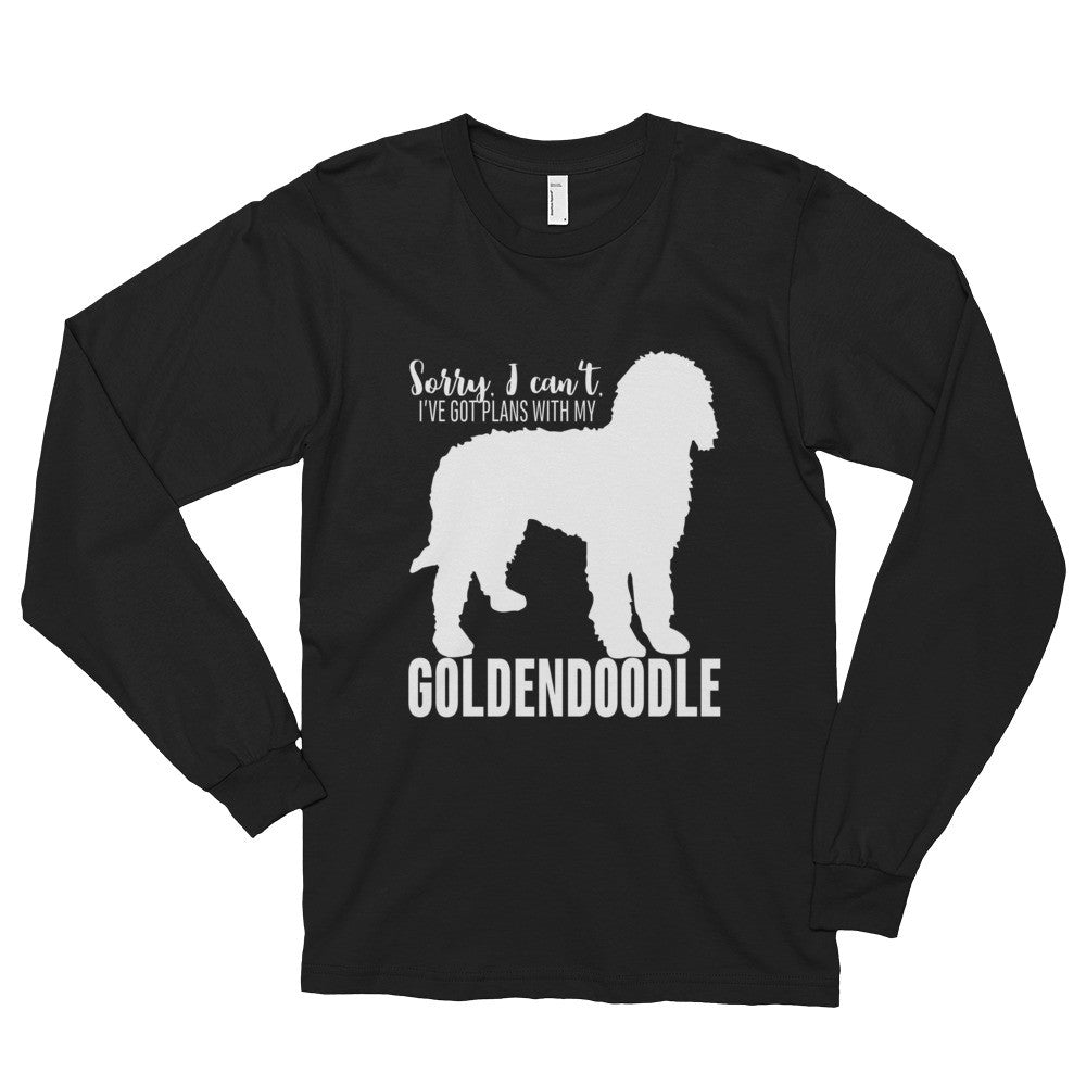 Golden doodle Goldendoodle Long sleeve t-shirt (unisex)
