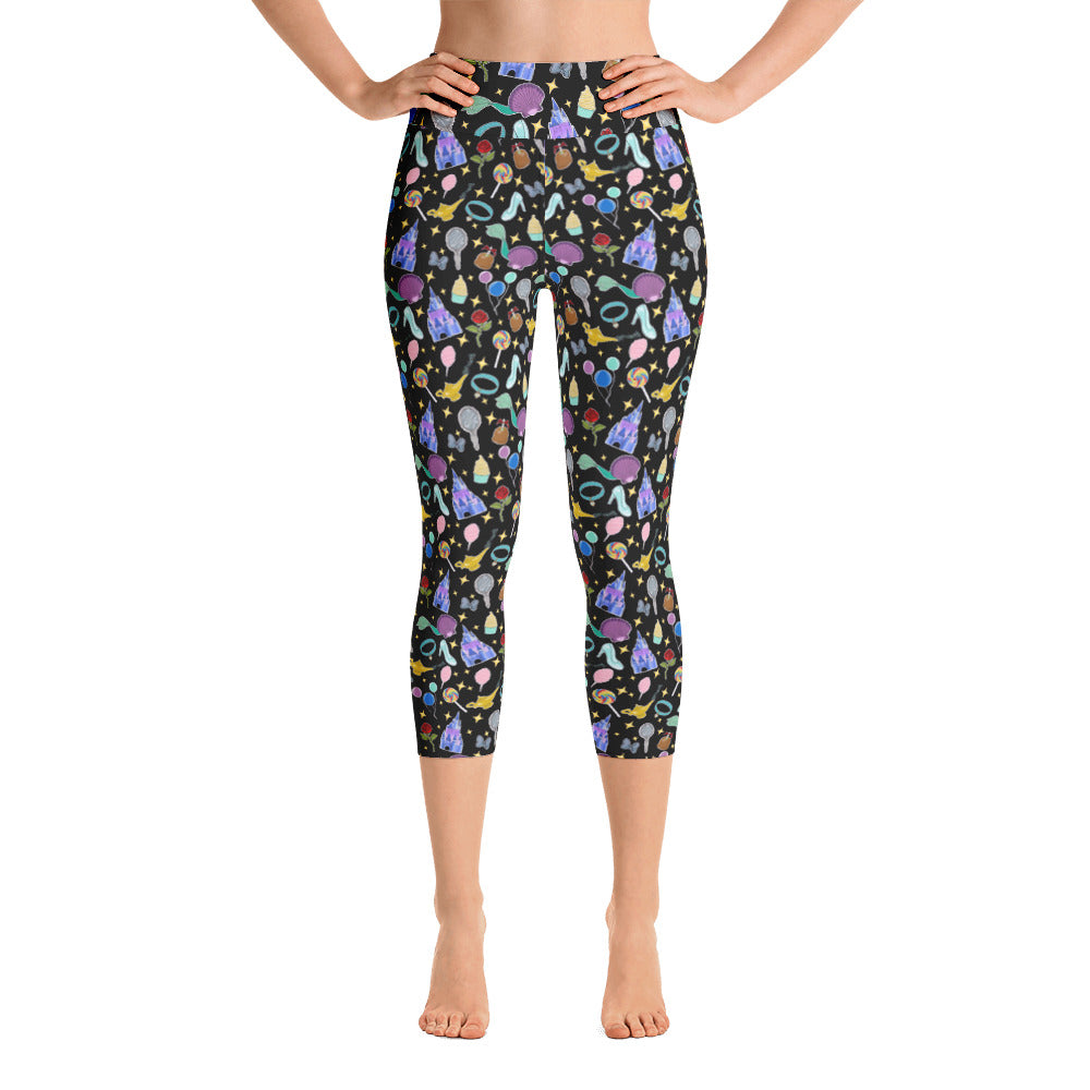 Once Upon a Babalus Yoga Capri Leggings