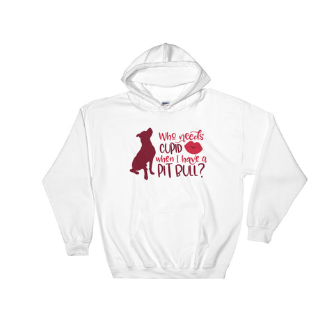 Pitbull Valentine Hooded Sweatshirt