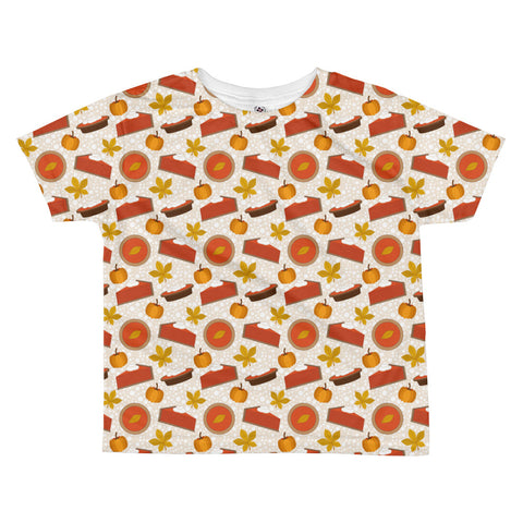Pumpkin Pie All-over kids sublimation T-shirt