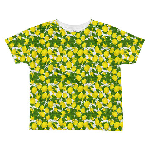 Lemon All-over kids sublimation T-shirt