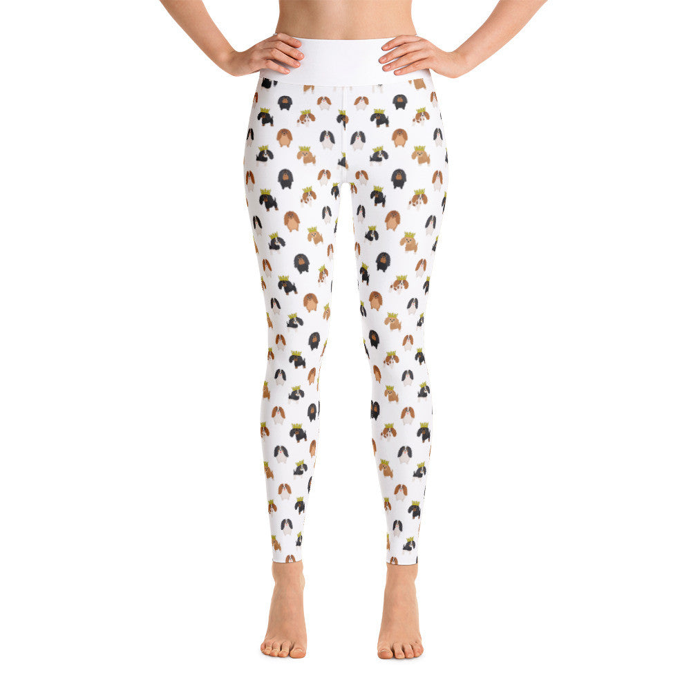 Cavalier King Charles Spaniel Yoga Leggings